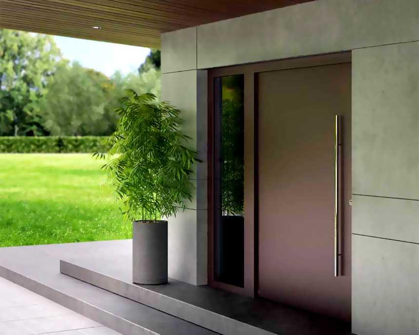 Aluminium Entrance Doors | 4D doors